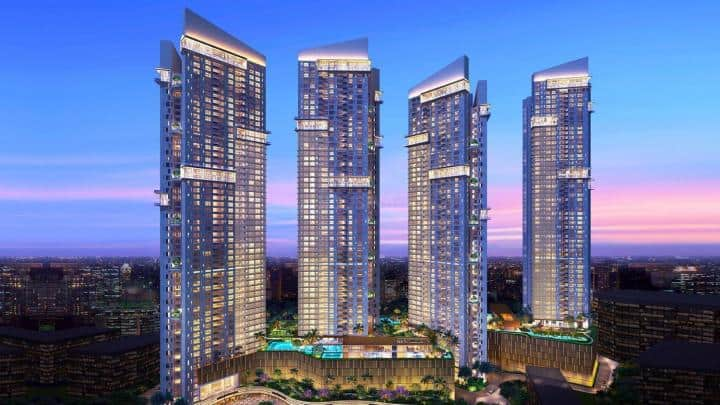 Auris Serenity Tower building in india