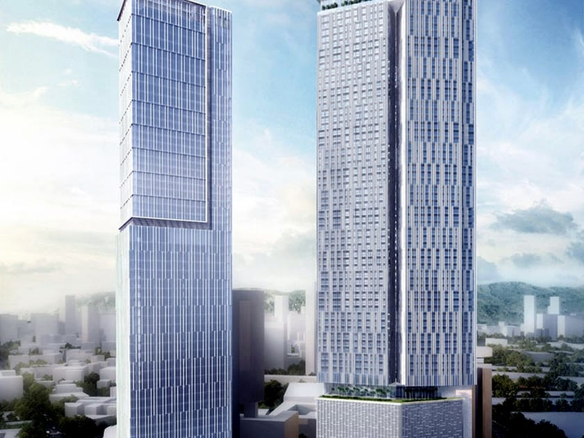 Three Sixty West Tower building in india